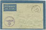 Luftfeldpost 1941 Drittes Reich Luftfeldpost Brief – Feldpost Nummer 00... 8,00 EUR  zzgl. 1,20 EUR Versand
