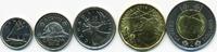5 Cents bis 2 Dollar 2014 Kanada - Canada Elisabeth II. ab 1952 – Lot m... 9,00 EUR  zzgl. 1,20 EUR Versand