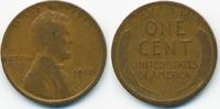 1 Cent 1912 USA Lincoln Cent schön  1,50 EUR  zzgl. 1,20 EUR Versand