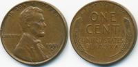 1 Cent 1951 D USA Lincoln Cent sehr schön/vorzüglich  0,50 EUR  zzgl. 1,20 EUR Versand