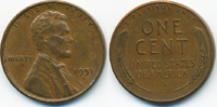 1 Cent 1951 S USA Lincoln Cent sehr schön+  0,80 EUR  zzgl. 1,20 EUR Versand