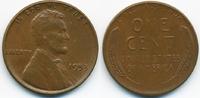 1 Cent 1953 USA Lincoln Cent sehr schön+  0,60 EUR  zzgl. 1,20 EUR Versand