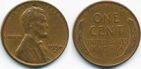1 Cent 1954 D USA Lincoln Cent sehr schön/vorzüglich  0,60 EUR  zzgl. 1,20 EUR Versand