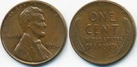 1 Cent 1956 USA Lincoln Cent vorzüglich+  2,00 EUR  zzgl. 1,20 EUR Versand