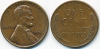 1 Cent 1956 D USA Lincoln Cent vorzüglich  0,80 EUR  zzgl. 1,20 EUR Versand