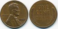 1 Cent 1957 USA Lincoln Cent vorzüglich  0,80 EUR  +  2,00 EUR shipping
