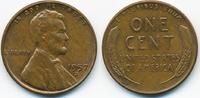 1 Cent 1957 D USA Lincoln Cent vorzüglich  0,80 EUR  zzgl. 1,20 EUR Versand