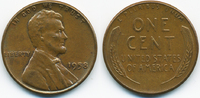 1 Cent 1958 USA Lincoln Cent vorzüglich  0,80 EUR  +  2,00 EUR shipping