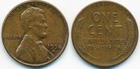 1 Cent 1958 D USA Lincoln Cent vorzüglich  0,80 EUR  zzgl. 1,20 EUR Versand