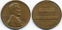 1 Cent 1959 USA Lincoln Cent Memorial vorzüglich/prägefrisch  0,80 EUR  zzgl. 1,20 EUR Versand