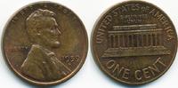 1 Cent 1959 D USA Lincoln Cent Memorial vorzüglich/prägefrisch  0,80 EUR  zzgl. 1,20 EUR Versand