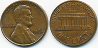 1 Cent 1960 USA Lincoln Cent Memorial fast vorzüglich  0,60 EUR  +  2,00 EUR shipping