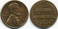 1 Cent 1964 D USA Lincoln Cent Memorial fast prägefrisch  0,60 EUR  zzgl. 1,20 EUR Versand