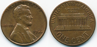 1 Cent 1966 USA Lincoln Cent Memorial fast prägefrisch  0,50 EUR  +  2,00 EUR shipping