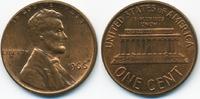 1 Cent 1966 USA Lincoln Cent Memorial prägefrisch+  0,70 EUR  zzgl. 1,20 EUR Versand