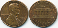 1 Cent 1974 USA Lincoln Cent Memorial fast prägefrisch  0,50 EUR  +  2,00 EUR shipping