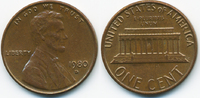 1 Cent 1980 D USA Lincoln Cent Memorial vorzüglich  0,60 EUR  zzgl. 1,20 EUR Versand