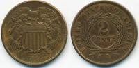 2 Cents 1864 USA Large Motto sehr schön/vorzüglich  29,00 EUR  zzgl. 3,80 EUR Versand