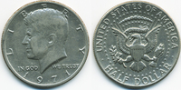 1/2 Dollar 1971 USA Kennedy Half - Kupfer/Nickel vorzüglich  1,50 EUR  zzgl. 1,20 EUR Versand
