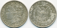 1 Dollar 1884 USA Morgan Dollar vorzüglich - fleckige Patina  34,00 EUR  zzgl. 3,80 EUR Versand