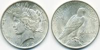 1 Dollar 1923 USA Peace Dollar vorzüglich - minimal fleckig  27,00 EUR  zzgl. 3,80 EUR Versand