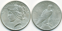1 Dollar 1925 USA Peace Dollar prägefrisch  36,00 EUR  zzgl. 3,80 EUR Versand