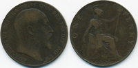 1 Penny 1905 Großbritannien - Great Britain Edward VII. 1901-1910 schön... 2,50 EUR  zzgl. 1,20 EUR Versand