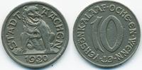 10 Pfennig 1920 Rheinprovinz Aachen - Eisen 1920 (Funck 1.3C) Probe seh... 90,00 EUR  zzgl. 3,80 EUR Versand