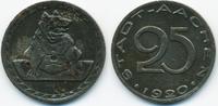 25 Pfennig 1920 Rheinprovinz Aachen - Eisen 1920 (Funck 1.10a) sehr sch... 1,00 EUR  zzgl. 1,20 EUR Versand
