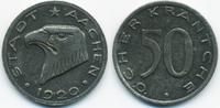 50 Pfennig 1920 Rheinprovinz Aachen - Eisen 1920 (Funck 1.11Ba) Riffelr... 5,00 EUR  zzgl. 1,20 EUR Versand