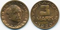 3 Mark 1920 Rheinprovinz Aachen - Messing 1920 (Funck 1.19 neue Nr.) vo... 25,00 EUR  zzgl. 3,80 EUR Versand
