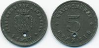 5 Pfennig 1917 Bayern Abensberg - Zink 1917 (Funck 3.2) Riffelrand sehr... 13,00 EUR  zzgl. 1,20 EUR Versand