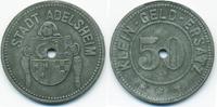 50 Pfennig ohne Jahr Baden Adelsheim - Zink ohne Jahr (Funck 4.3) sehr ... 14,00 EUR  zzgl. 1,20 EUR Versand