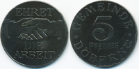5 Pfennig ohne Jahr Brandenburg Döbern - Eisen ohne Jahr (Funck 100.1) ... 59,00 EUR  zzgl. 3,80 EUR Versand
