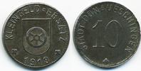 10 Pfennig 1918 Baden Donaueschingen - Eisen 1918 (Funck 101.4a) gutes ... 18,00 EUR  +  2,00 EUR shipping