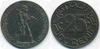 25 Pfennig 1919 Rheinprovinz Düren - Eisen 1919 (Funck 105.10c) Schrift... 2,50 EUR  zzgl. 1,20 EUR Versand