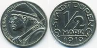 1/2 Mark 1919 Rheinprovinz Düren - Eisen 1919 (Funck 105.12b) fast präg... 4,00 EUR  zzgl. 1,20 EUR Versand