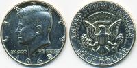 1/2 Dollar 1969 D USA Kennedy Half vorzüglich - leicht gereinigt  5,50 EUR  +  2,00 EUR shipping