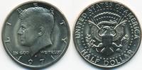 1/2 Dollar 1971 D USA Kennedy Half – Kupfer/Nickel prägefrisch  2,00 EUR  zzgl. 1,20 EUR Versand