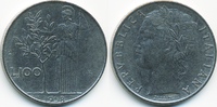 100 Lire 1958 R Italien - Italy Republik seit 1946 sehr schön  1,00 EUR  zzgl. 1,20 EUR Versand