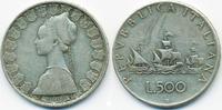 500 Lire 1960 R Italien - Italy Republik seit 1946 – Flotte des Kolumbu... 6,50 EUR  +  2,00 EUR shipping
