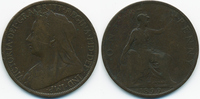 1 Penny 1899 Großbritannien - Great Britain Victoria 1837-1901 schön+  3,50 EUR  zzgl. 1,20 EUR Versand