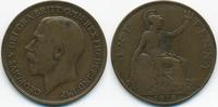 1 Penny 1918 Großbritannien - Great Britain George V. 1910-1936 fast se... 3,50 EUR  zzgl. 1,20 EUR Versand