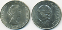 Crown 1965 Großbritannien - Great Britain Churchill – Kupfer/Nickel vor... 2,00 EUR  zzgl. 1,20 EUR Versand
