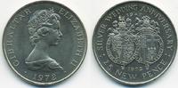 25 New Pence 1972 Gibraltar - Gibraltar Silberhochzeit - Kupfer/Nickel ... 2,50 EUR  +  2,00 EUR shipping