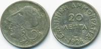20 Lepta 1926 Griechenland - Greece Zweite Republik 1924-1935 schön  2,00 EUR  zzgl. 1,20 EUR Versand