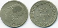 50 Lepta 1926 Griechenland - Greece Zweite Republik 1924-1935 schön  2,00 EUR  zzgl. 1,20 EUR Versand
