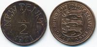 1/2 New Penny 1971 Großbritannien - Guernsey Elisabeth II. ab 1952 präg... 1,50 EUR  +  2,00 EUR shipping