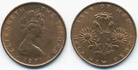 1/2 New Penny 1971 Insel Man - Isle of Man Elisabeth II. ab 1952 prägef... 1,50 EUR  zzgl. 1,20 EUR Versand