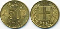 50 Aurar 1971 Island - Iceland Republik prägefrisch  0,50 EUR  +  2,00 EUR shipping